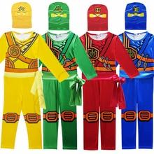 Teenage Mutant Ninja Turtles Cosplay Costume Boy Child Halloween Party Fancy Dress Kids Ninjago Superhero Jumpsuits Suit