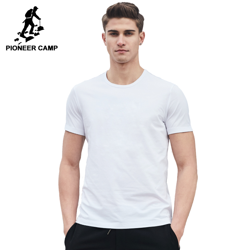 Пионерский лагерь 2018 Новинка, футболка брендовая мужская одежда мужской футболки наивысшего качества 100% хлопок мягкая футболка для мужчин Большие размеры 4XL