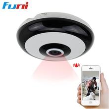 Funi 1.3mp 3D VR Wifi IP Camera Wi-fi 360 Deg house cameras