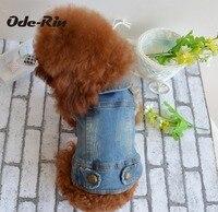 Ode-Rin ayı daha pet Köpek giyim teddy VIP hayvan sonbahar ve kış giyim kavramak için tahıl antik yollar kovboy yelek
