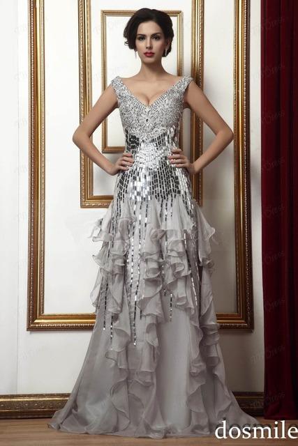 2016 Sexy Profundo Decote Em V Beading cristais Lantejoulas Mangas Tiers Off-the-ombro Mãe do Vestido Da Noiva vestidos de noiva mãe