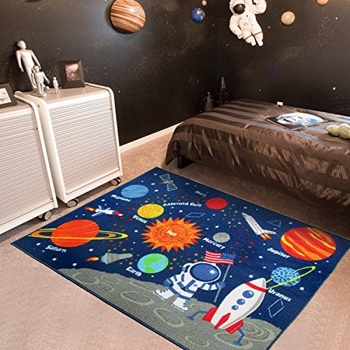 100 nylon - 100% Nylon Carpets for Home Living Room Boys Favourite Solar System Bedside Area Rugs Baby Playing Crawling Mats Kids Floor Mats
