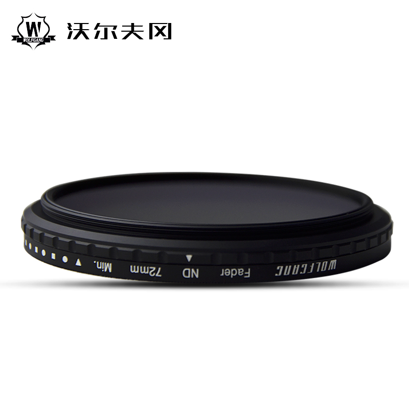 WOLFGANG Adjustable ND2-1200 Neutral Density Camera Filter Optical Glass 52 55 58 62 67 72 77 82 86mm haida 100mm nd1000 optical glass neutral density nd filter 100 cokin z compatible