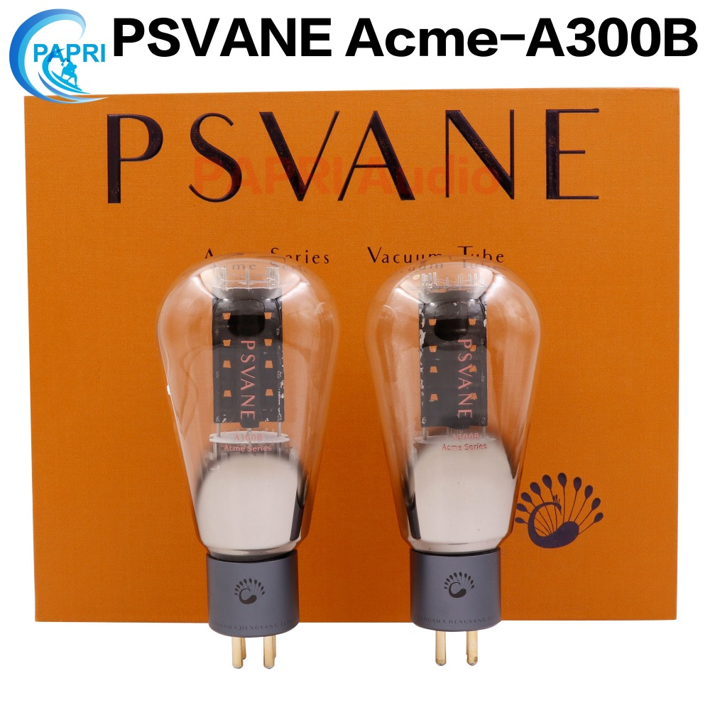 PAPRI Newest 2PCS Psvane Acme A300B Vacuum Tube 300B Treasure For Audio HIFI DIY Guitar Tube