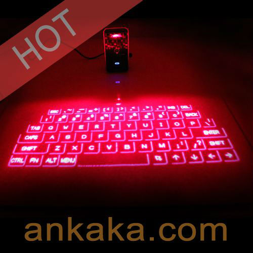 Fascinate Magic Hexahedron Cube Laser Projection Keyboard