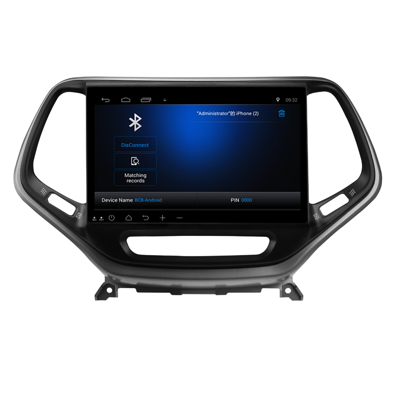 "Perfect Tesla Type Vertica screen 10.2"" Android 6.0 ! 1024*600 car multimedia DVD player Radio GPS FOR JEEP Cherokee 2014 2015 -16 2019 5"