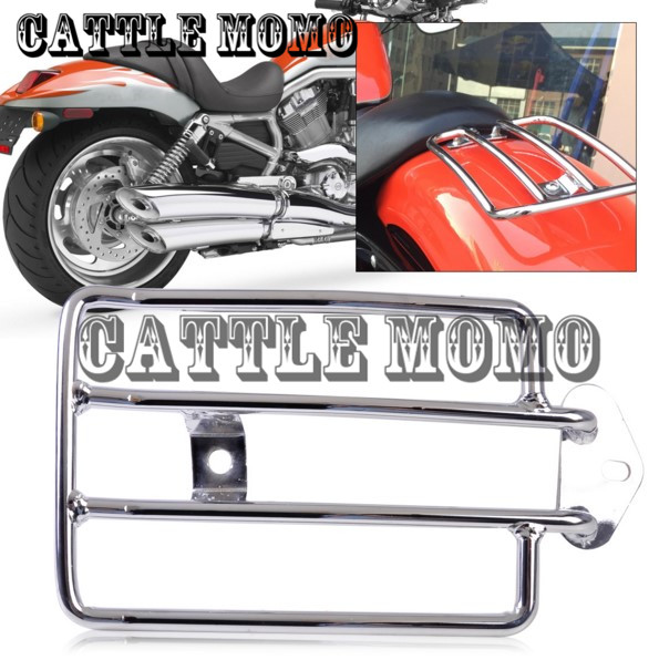 Rear Luggage Rack Motorcycle Rear Seat Luggage Support Cargo Shelf Rack for Harley Sportster 883 1200 Metal Luggage Shelf luggage rack