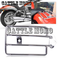 Rear Luggage Rack Motorcycle Rear Seat Luggage Support Cargo Shelf Rack for Harley Sportster 883 1200 Metal Luggage Shelf