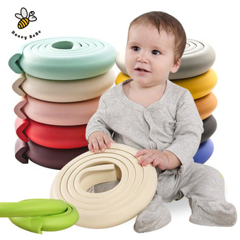2M Children Protection Table Guard Strip Baby Safety Products Glass Edge Furniture Horror Crash Bar Corner Foam Bumper Collision