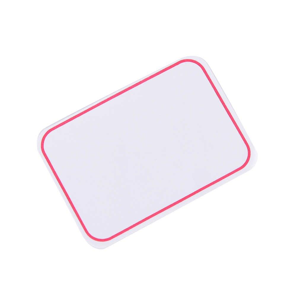12 листов/Упаковка 35x50 мм огромная самоклеющаяся клейкая этикетка записываемые Имя Наклейки пустые заметки этикетки