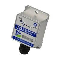 Sec345 три оси Электрический цифровой Компасы Инклинометр Датчики наклона Заголовок Точность 1 градусов (RS232 RS485 TTL modbus опционально)