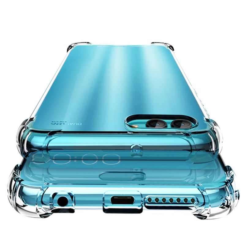 Anunob Huawei P20 Lite Case Honor 7A 7C Crystal Silicone Cover Huawei P8 Lite P10 P20 Pro Case Y5 Y6 Y7 Y9 2018 Mate 10 Nova Bag