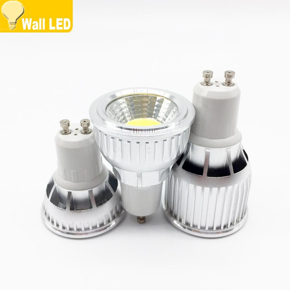 Led Bulbs & Tubes Best Led Spot Light 6w 9w 12w Gu10 Cob Spotlight Bulb Lamp High Power White Warm White Lamps Ac85-265v Led Light Brand Wholesale A Great Variety Of Goods