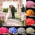 Multi-Color 1000pcs/lot Petalas Rose Petal Wedding Decorations Accessories Artificial Flowers Rose Petals Petalos De Rosa PS03