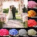 Multi-Cor 1000 pçs/lote Petalas de Rosa Petalos Decorações Acessórios Flores Artificiais Pétalas de Rosa Casamento Pétala De Rosa PS03