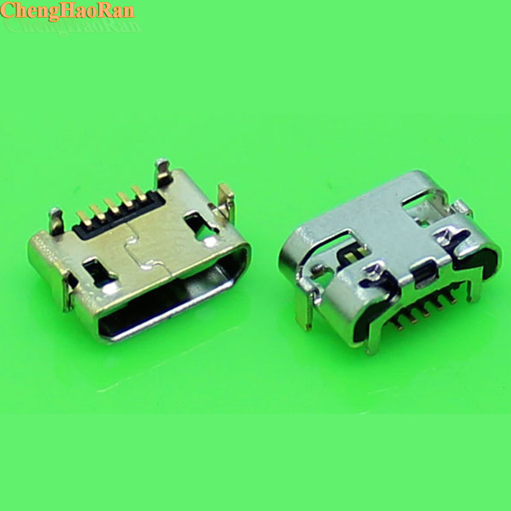 Chenghaoran Dock-Plug 5p-Socket-Connector Charging-Jack Repair-Parts Usb-Jack Micro