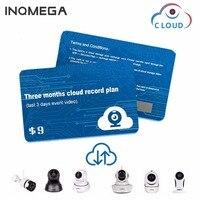Inqmega amazon nuvem serviços plano cartão para amazon armazenamento em nuvem wifi cam câmera ip de vigilância segurança em casa para APP-YCC365