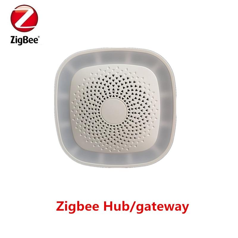 2018 New ZigBee Gateway/Hub Timely Arm/disarm Wireless Zigbee Hub Control by Smart phone App jiawen zigbee bulb smart bulb wireless bulb app control work with zigbee hub free shipment