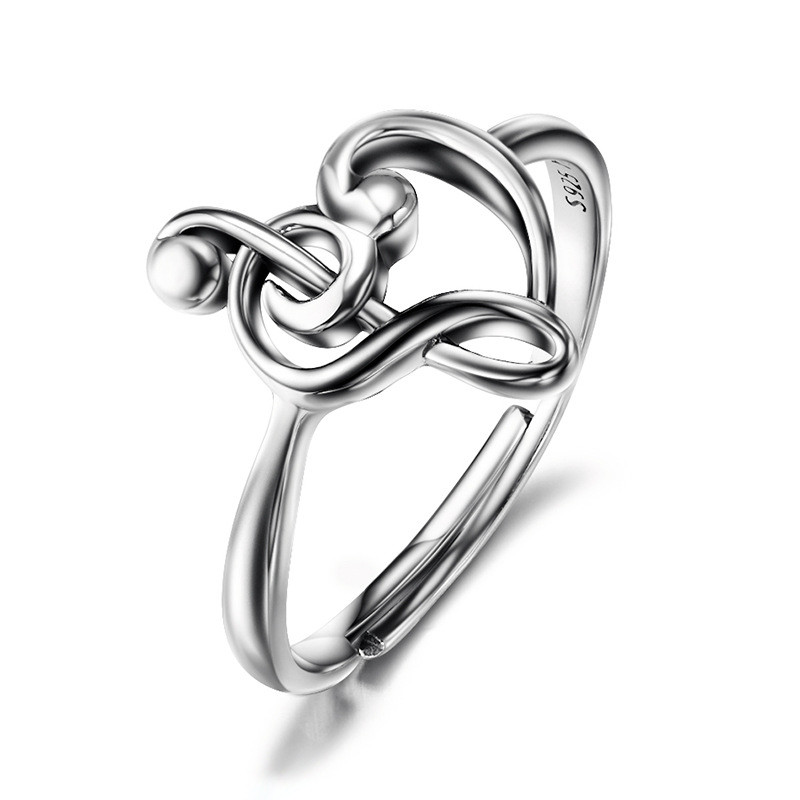 100% Pure 925 Sterling Silver Adjustable Ringss