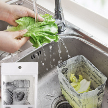 10PCS Kitchen Pool Garbage Bag Household Sink Anti-Clogging Residue Filter Drain Convenient Water