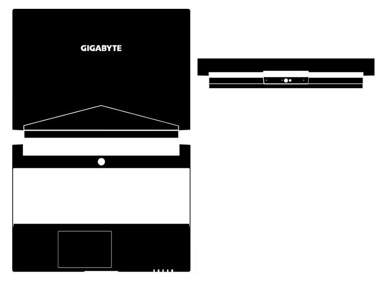 Special Laptop Carbon Fiber Vinyl Skin Stickers Cover For GIGABYTE Aero 15 15X 15.6