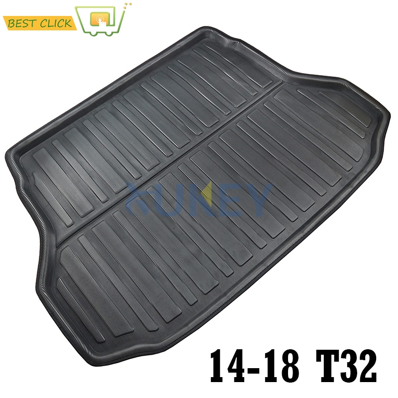fit for 2014 2015 2016 2017 nissan x trail rogue xtrail rear boot liner trunk cargo mat tray. Black Bedroom Furniture Sets. Home Design Ideas