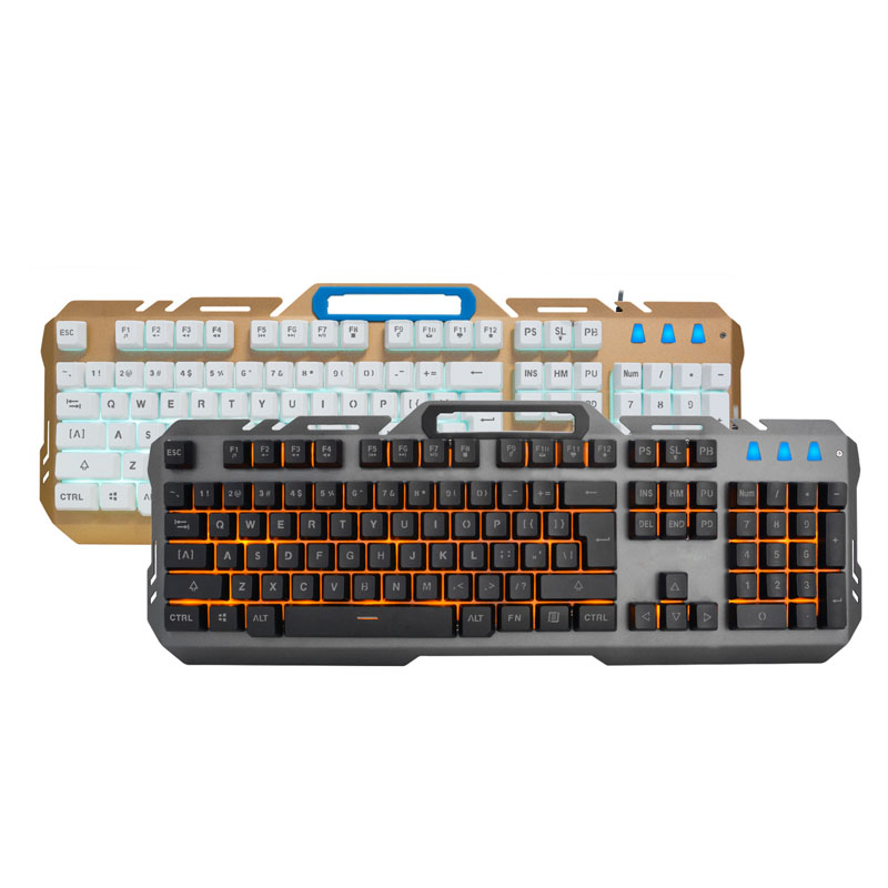 2017 K36Illumination Multimedia Ergonomics Game 104 keys Keyboard Usb Wired LED Backlight +3200DPI 6 Button Optical Gamin QJY99