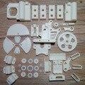 Reprap Prusa I3, Reprap Prusa Мендель 3D принтер части полный комплект ABS пластик-белый Бесплатная доставка