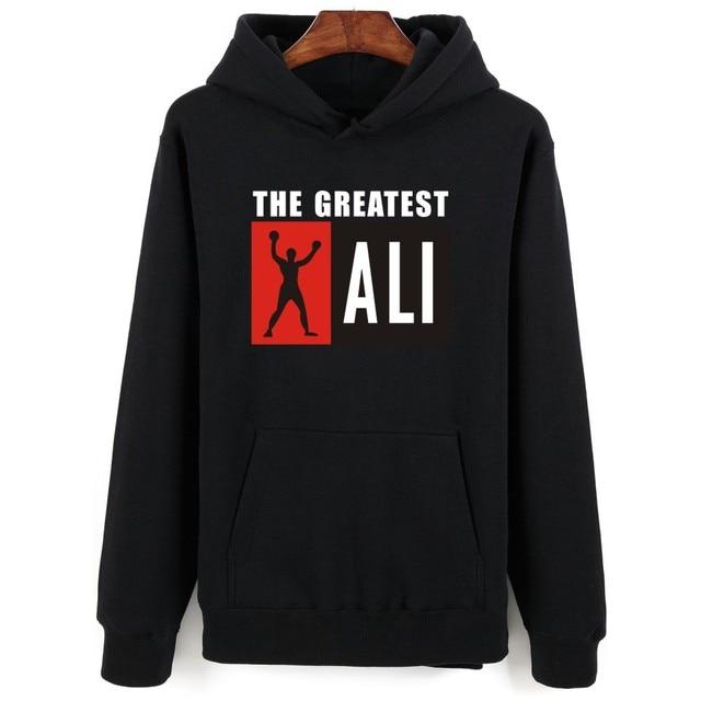 4ccc20249883e8 Sweatshirt Männer Hoodie Trainingsanzug Harajuku MUHAMMAD ALI Hip Hop Hoodies  Marke Kleidung Herren Sweatshirts Sudaderas Hombre
