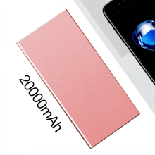 20000mAh Ultra Slim Portable Phone Charger Polymer Power Bank