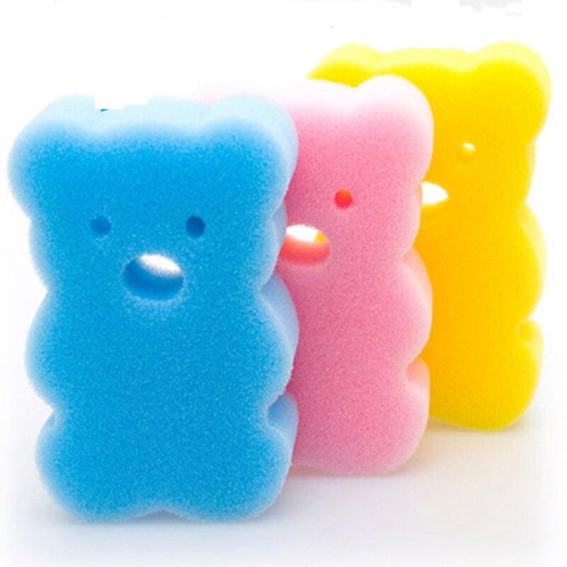 1 Pc Bad Pinsel Handtuch Zubehör Baby Infant Dusche Wasserhahn Waschen Kind Pinsel Bad Cartoon Schwämme Reiben Schwamm Baumwolle Reiben Körper GroßEr Ausverkauf