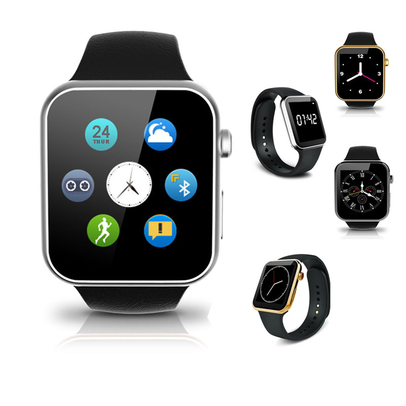 Bluetooth Smart Watch Wearable Heart rate monitor Multi Face Smart Bluetooth Wristwatch For Samsung Android iPhone IOS Phone f2 smart watch accurate heart rate statistics i bluetooth watch compatible android smart wearable ios system