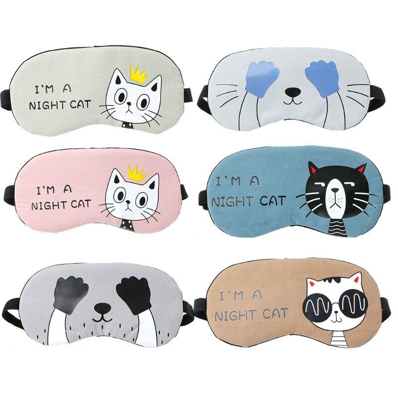 Soft Eye Aid Mask Travel Sleep Rest Eye Shade Cover Shade Blindfold Unisex все цены