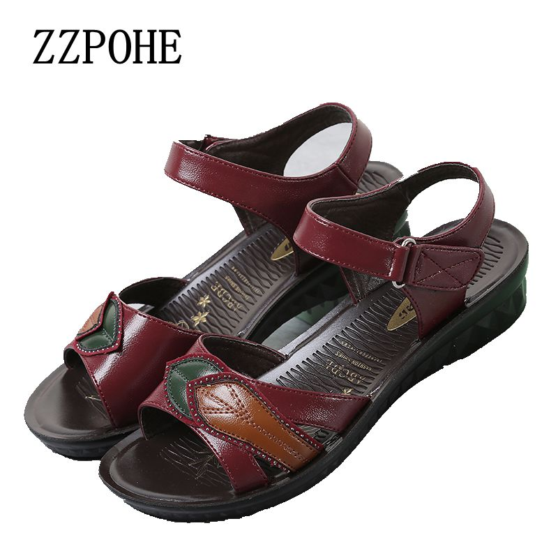 Zzpohe 2017 Summer New Fashion Women Elderly Mother