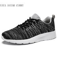 YAYA STAR CURRY 2 2017 New Men S Running Shoes Hot Outdoor Shoes 3D Fly Line