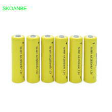 10PCS A lot AA Rechargeable Battery Ni-MH 1.2V 2800mAh 2A Pre-charged Bateria Batteries for Camera
