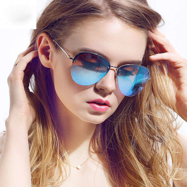 mirrored aviator sunglasses womens  Aliexpress.com : Buy Sky New Fashion Sun Glasses Female Glasses ...