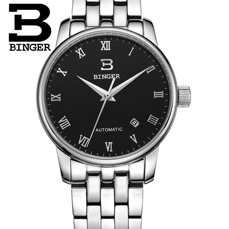 Zwitserland horloges heren luxe merk18K goud Horloges BINGER bedrijf - Herenhorloges - Foto 3