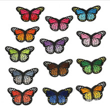 7.8CM*4.6CM Many Animal Flying Badge Repair Patch Embroidered Iron On Patches For Clothing Close Shoes Bags Badges Embroidery