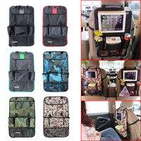 New Car Styling Back Car Seat Cover Auto Car Seat Back Organizer Holder Multi-Pocket Travel Storage Hanging Bag CSL2017