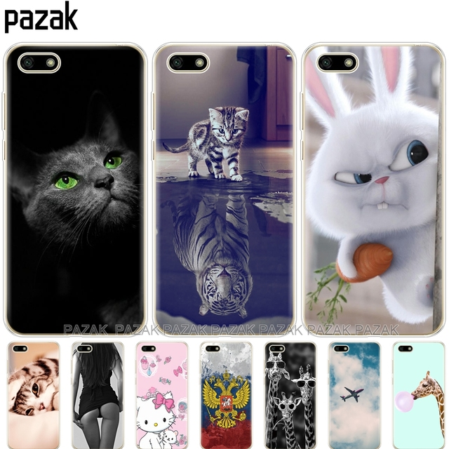 Silicone phone Case For Huawei Honor 7A Case 5.45