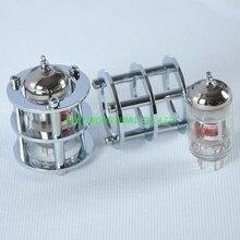 1pc Silver Tube Guard Protector Brass ECC82 ECC83 12AX7 12AT7 6922 Valve DIY Part for Amplifier