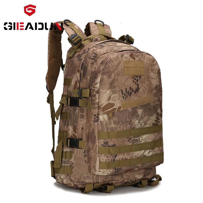 55L 3D sports de plein air escalade alpinisme randonnée sac à dos tactique militaire camp randonnée sac à dos, sac de voyage, en plein air