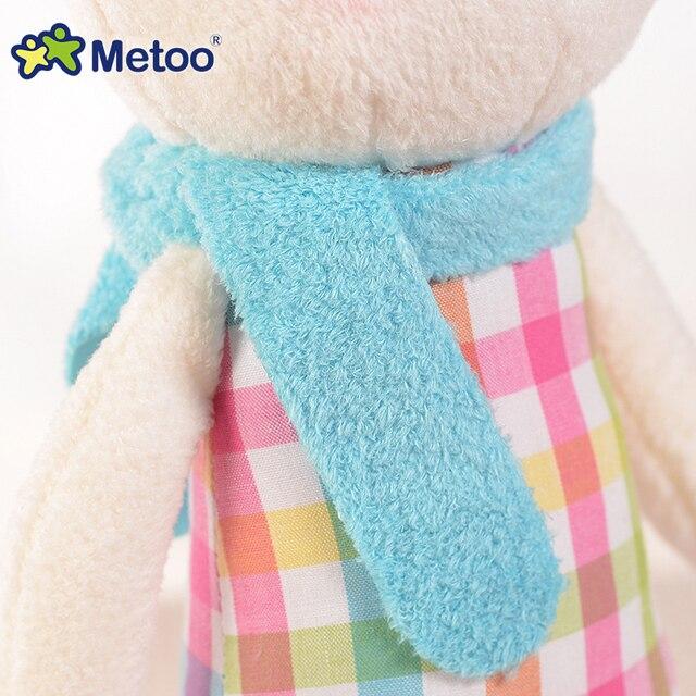 Original METOO Tiramisu rabbit dolls plush kids toys 8 style,35cm Bunny Stuffed Animal Lamy Rabbit Toy gifts with gift box