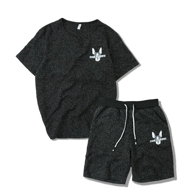2018 New T-Shirt Sets Cotton Casual T-shirt Men Summer Hot Sale Tracksuits Hip Hop Brand ...