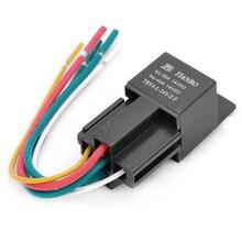Jtron 12V/24V 40A TRV4-L-24-Z-F Car DIY Power Relay Universal Car Electric Tools DIY Accessories