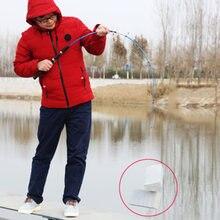 Vara de pesca segmento sólido, vara de pesca de 1.2/1.35/1.5/1.8 m, 2 seções