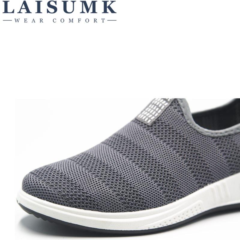 Masculino Casual Chaussures Mocassins Respirant Rubbe on Hommes Marque Baskets Tenis 2018 Homme Laisumk Chaussure blue gray Black Slip Feminino SAx7qwEX