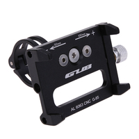 Anti Slip Bicycle Phone Holder Universal Bike Motorcycle Handlebar Mount Clip Mobille Holder Stand Extender For