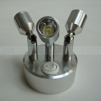 NEW ZZR11 Led Three Head Lamp Rechargeable Built In Power Battery Light Bar LED Spotlights Jewelry